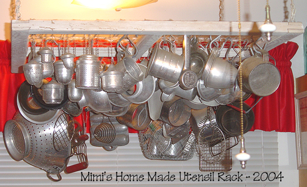 Mimi's Home-Made Utensil Rack